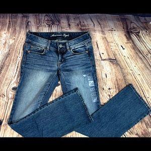 NWT American Eagle- Dark Wash Jeans 6 Long